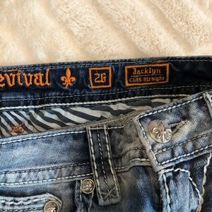 Rock Revival Jeans - Rock Revival Jacklyn Distressed Jeans Size 26